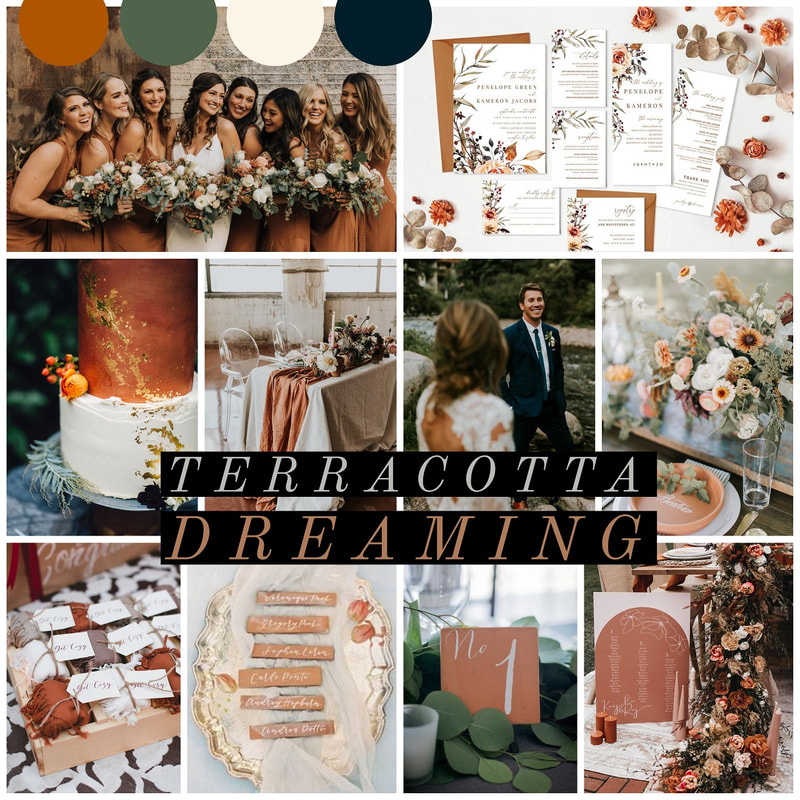 2021 wedding color trends
